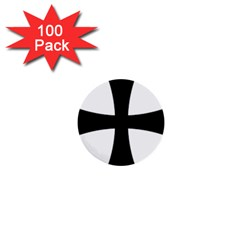Cross Patty 1  Mini Buttons (100 Pack)  by abbeyz71