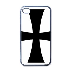 Cross Patty Apple Iphone 4 Case (black) by abbeyz71