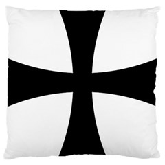 Cross Patty Large Cushion Case (one Side)