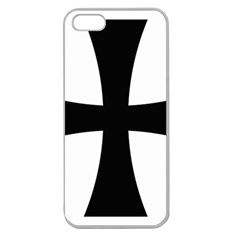 Cross Patty Apple Seamless Iphone 5 Case (clear) by abbeyz71