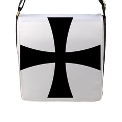 Cross Patty Flap Messenger Bag (l)  by abbeyz71