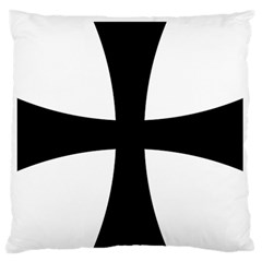 Cross Patty Large Flano Cushion Case (one Side) by abbeyz71