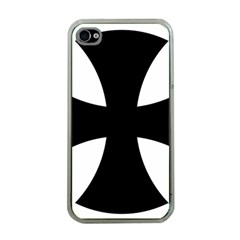 Cross Patty  Apple Iphone 4 Case (clear) by abbeyz71