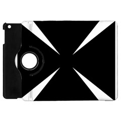 Cross Patty  Apple Ipad Mini Flip 360 Case by abbeyz71