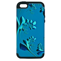 Amazing Floral Fractal A Apple Iphone 5 Hardshell Case (pc+silicone) by Fractalworld
