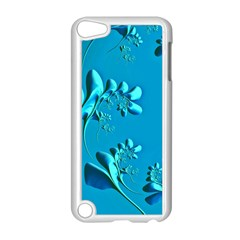 Amazing Floral Fractal A Apple Ipod Touch 5 Case (white) by Fractalworld