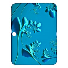 Amazing Floral Fractal A Samsung Galaxy Tab 3 (10 1 ) P5200 Hardshell Case  by Fractalworld