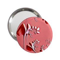 Amazing Floral Fractal B 2 25  Handbag Mirrors by Fractalworld