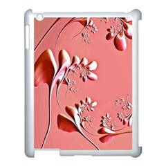 Amazing Floral Fractal B Apple Ipad 3/4 Case (white) by Fractalworld