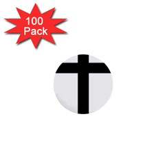 Patriarchal Cross 1  Mini Buttons (100 Pack)  by abbeyz71