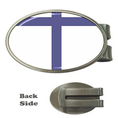 Patriarchal Cross Money Clips (oval)