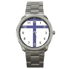 Patriarchal Cross Sport Metal Watch by abbeyz71