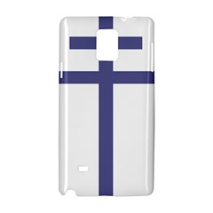 Patriarchal Cross Samsung Galaxy Note 4 Hardshell Case by abbeyz71