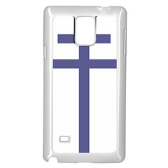 Patriarchal Cross Samsung Galaxy Note 4 Case (white) by abbeyz71