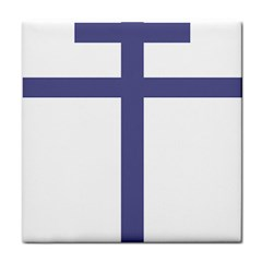 Patriarchal Cross Face Towel by abbeyz71