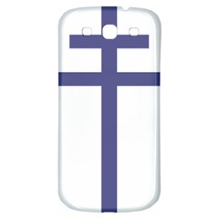 Patriarchal Cross Samsung Galaxy S3 S Iii Classic Hardshell Back Case by abbeyz71