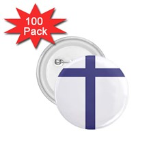 Patriarchal Cross  1 75  Buttons (100 Pack)  by abbeyz71