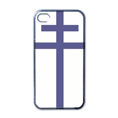 Patriarchal Cross  Apple Iphone 4 Case (black) by abbeyz71