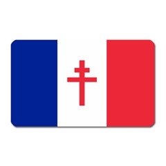Flag Of Free France (1940 1944) Magnet (rectangular) by abbeyz71