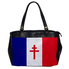 Flag Of Free France (1940 1944) Office Handbags by abbeyz71
