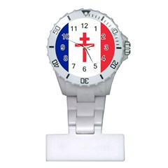 Flag Of Free France (1940 1944) Plastic Nurses Watch by abbeyz71