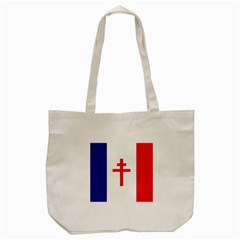 Flag Of Free France (1940 1944) Tote Bag (cream) by abbeyz71