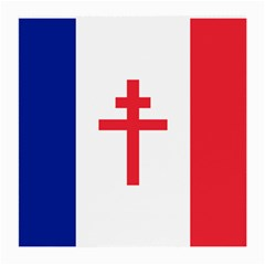 Flag Of Free France (1940 1944) Medium Glasses Cloth (2 Side) by abbeyz71
