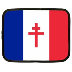 Flag Of Free France (1940 1944) Netbook Case (large) by abbeyz71