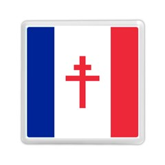 Flag Of Free France (1940 1944) Memory Card Reader (square)  by abbeyz71