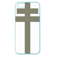 Cross Of Loraine Apple Seamless Iphone 5 Case (color) by abbeyz71