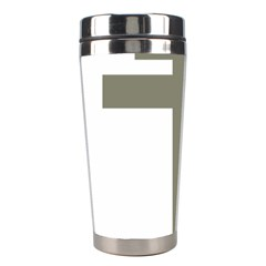 Cross Of Lorraine  Stainless Steel Travel Tumblers by abbeyz71