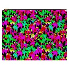 Colorful Leaves Cosmetic Bag (xxxl)  by Costasonlineshop