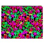 Colorful Leaves Cosmetic Bag (XXXL)  Back