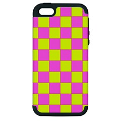 Pattern Apple Iphone 5 Hardshell Case (pc+silicone) by Valentinaart