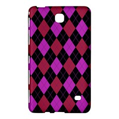 Plaid Pattern Samsung Galaxy Tab 4 (7 ) Hardshell Case  by Valentinaart