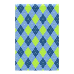 Plaid Pattern Shower Curtain 48  X 72  (small)  by Valentinaart