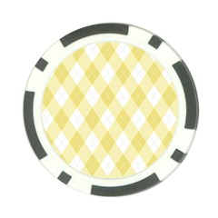 Plaid Pattern Poker Chip Card Guard (10 Pack)
