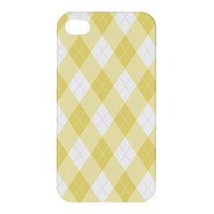 Plaid Pattern Apple Iphone 4/4s Hardshell Case by Valentinaart