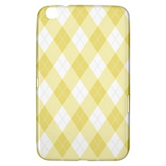 Plaid Pattern Samsung Galaxy Tab 3 (8 ) T3100 Hardshell Case  by Valentinaart