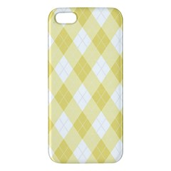 Plaid Pattern Iphone 5s/ Se Premium Hardshell Case by Valentinaart