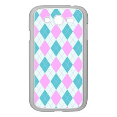 Plaid Pattern Samsung Galaxy Grand Duos I9082 Case (white) by Valentinaart