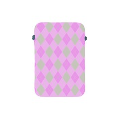 Plaid Pattern Apple Ipad Mini Protective Soft Cases by Valentinaart