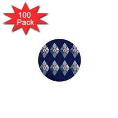 Diamonds And Lasers Argyle  1  Mini Buttons (100 Pack)  by emilyzragz