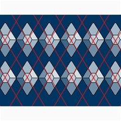 Diamonds And Lasers Argyle  Canvas 12  X 16   by emilyzragz