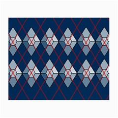 Diamonds And Lasers Argyle  Small Glasses Cloth (2 Side) by emilyzragz