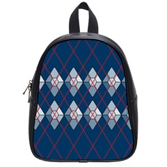 Diamonds And Lasers Argyle  School Bags (small)  by emilyzragz