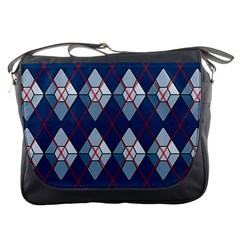 Diamonds And Lasers Argyle  Messenger Bags