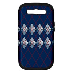 Diamonds And Lasers Argyle  Samsung Galaxy S Iii Hardshell Case (pc+silicone) by emilyzragz