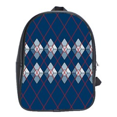 Diamonds And Lasers Argyle  School Bags (xl)  by emilyzragz