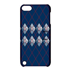 Diamonds And Lasers Argyle  Apple Ipod Touch 5 Hardshell Case With Stand by emilyzragz